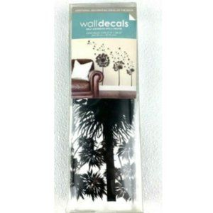 Dandelions In The Silhouette Wall Art Decals